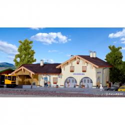 H0 nádraží -Grasbrunn-