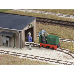 H0 lokomotiva polní dráhy - atrapa