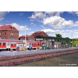H0 - nástupiště -Hofheim-