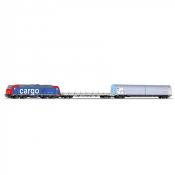 TT startovací set nákladního vlaku SBB