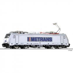 TT elektrická lokomotiva řady 386 -METRANS Rail s.r.o.- CZ ep.VI