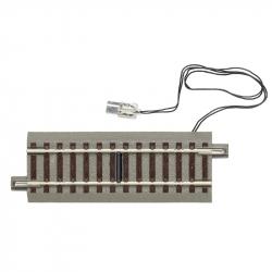 H0 GeoLine -spínací kolej s podložím- 100 mm