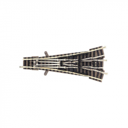 N výhybka třícestná ruční s podložím 111mm