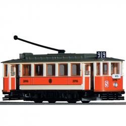 "H0 tramvaj Ringhoffer s 5-ti bočními okny ""S-provoz"" 70.léta ep.IV"