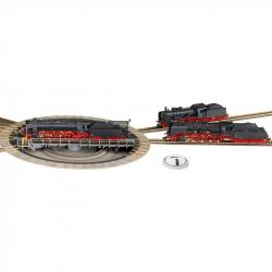 H0 točna s elektrickým pohonem pro koleje s podložím