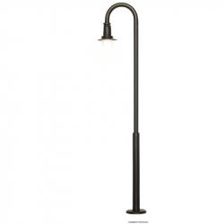 H0 oblouková lampa s LED osvětlením 87 mm