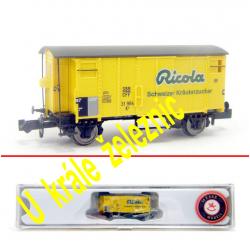 N zavřený nákladní vůz K2 -Ricola- SBB ep.III