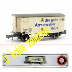 N zavřený nákladní vůz K2 -Appenzeller Käse- SBB ep.III