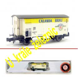 N zavřený nákladní vůz K2 -Calanda Bräu- SBB ep.III