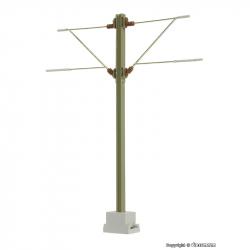 H0  traťový stožár H-profil 98 mm