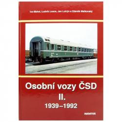 """Výpravná kniha """"Osobní vozy II"""" 1939-1992"""