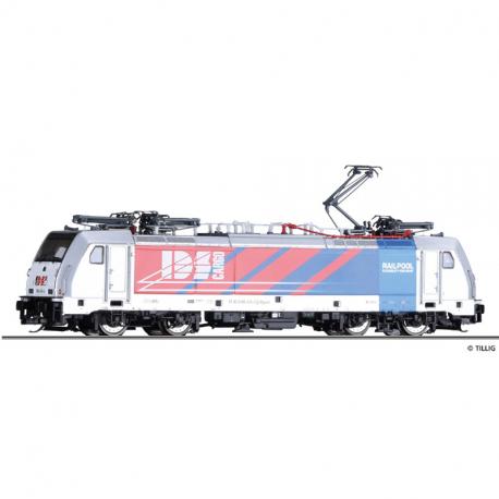 TT elektrická lokomotiva řady 186 435-4 -Railpool- IDS Cargo (CZ) ep.VI