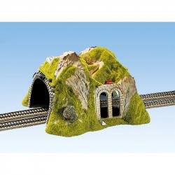 H0 tunel přímý dvoukolejný