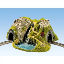TT  tunel jednokolejný do oblouku