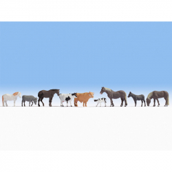 N hospodářská zvířata 9 figurek
