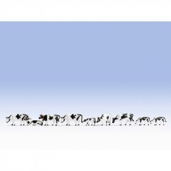 N krávy -černobílé- 9 figurek