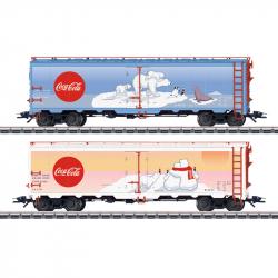 H0 set chladírenských vozů -Coca-Cola-  Typ R-40-14 Märklin 45687