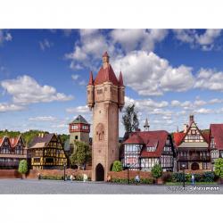 H0 Městská věž -Rothenburg -