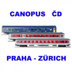 H0 set City Night Line -CANOPUS- ČD