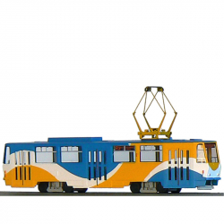 H0 tramvaj ČKD Tatra T6A5