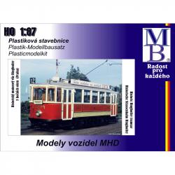 H0 tramvaj Ringhoffer -původní provedení-