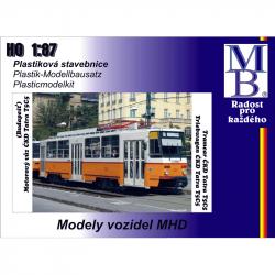 H0 tramvaj ČKD Tatra T5C5 -Budapešť-