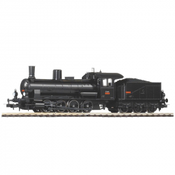 H0 parní lokomotiva s tendrem řady 413 ČSD ep.III