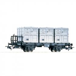 H0 kontejnerový vůz BTw91 DR ep.III