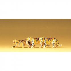 H0 tygr 3 figurky