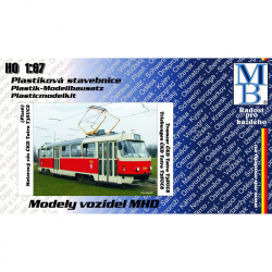 H0 motorový vůz ČKD Tatra T3SUCS -stavebnice-