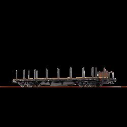 H0 plošinový vůz Pae s klanicemi ČSD ep.III