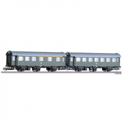 TT set dvou osobních vozů DB 1./2.tř. a 2.tř. ep.IV