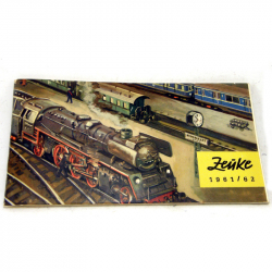 TT - katalog Zeuke 1961/1962 úplný
