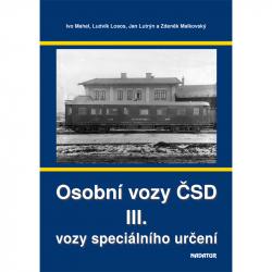 """Výpravná kniha """"Osobní vozy ČSD III"""""""