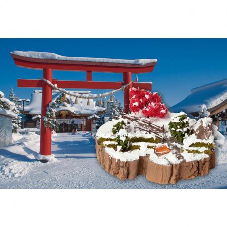 Dioráma -zimní sen- stavebnice