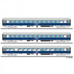 TT - set osobních vozů -Train Militaire Francais de Berlin- ep.IV