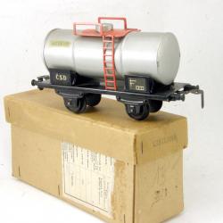 0 Merkur 2osá cisterna stříbrná s krabičkou