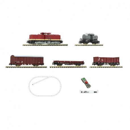 N - digitální start set s motorovou lokomotivou řady 110