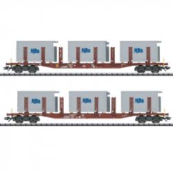 H0 - set dvou klanicových vozů Snps 719 DB AG ep.VI