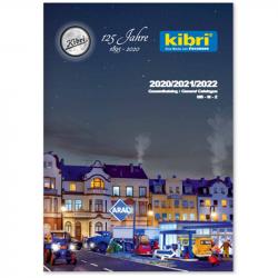 H0/N/Z - katalog Kibri 2020/2021/2022  - v němčině