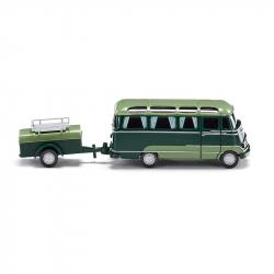 H0 - MB o 319 -panoramatický autobus s přívěsem-