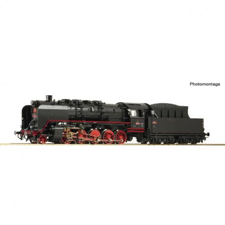 H0 - parní lokomotiva řady 555.1 ČSD ep.III