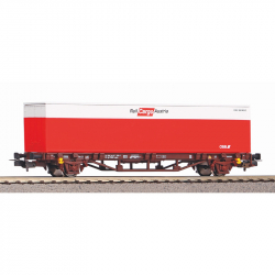 H0 - kontejnerový vůz ÖBB s kontejnerem 1x40' ep.VI