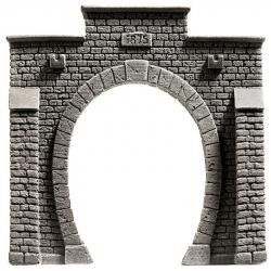 H0 - tunelový portál -jednokolejový-