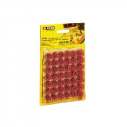 Travní trsy -kvetoucí- 42 kusů 9mm