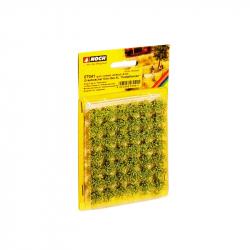 Travní trsy - polní rostliny - 42 kusů 9mm