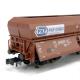 N - čtyřosý výsypný vůz  PKP Cargo - jednotlivě ze setu Hnědý