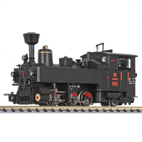 H0e - parní lokomotiva řady U No.2 -Zillertalbahn- ep.VI