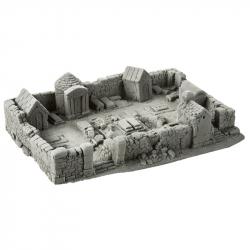 H0 - hřbitov -hotový model-