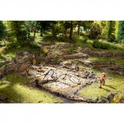 H0,TT,N - archeologické naleziště dinosaura T-Rex